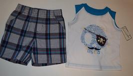 Toughskins Playwear Infant Toddler  Boys 2 Piece Shorts Set  Size12M or ... - $8.99