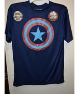 MARVEL Captain America  Boys Basic Active Tee  Various  SIZES NWT Blue - $9.59