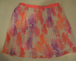 Girls Cherokee  Pink Floral Skirt- Size M 7/8 Nwt  - $12.79