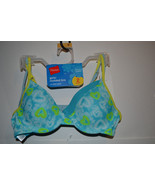 Hanes Girls Molded Underwire Bra 2 Pack Size 30  36 34 L NWT #H126 Blues... - $9.74
