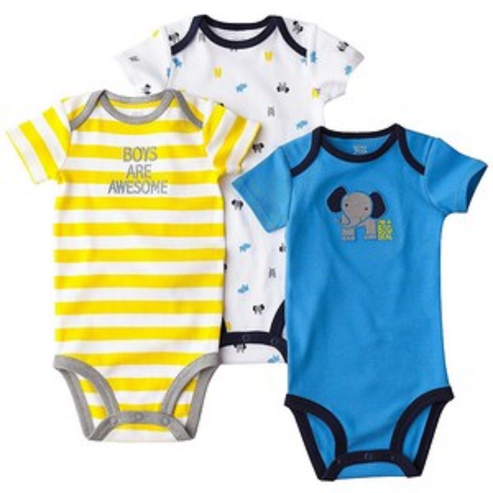 Just One You Carter Girls 3 Pack Bodysuit 2 Choices Sizes NB 3M or 12M NWT