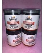 4 iHEART NATURE  Turmeric Red Sandalwood Face Mask Herbal Powder 8 oz - $39.60