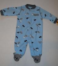 Newborn  Carter's Just One  Top Dog Pajamas   Size NB   NWT  - $7.99