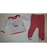 Absorba  2-piece Set  Infant Girls Christmas Pajamas   SIZE 3-6 M  NWT  - $10.39