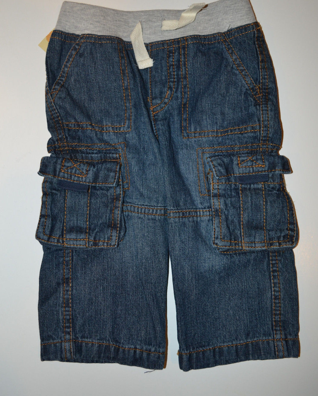 Primary image for BOYS INFANT CHEROKEE JEANS SIZE 12M     20-23 LBS       NWT NEW