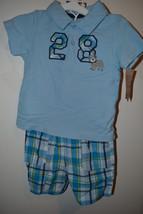 Carters  Infant  Boys 2 Piece Shorts Set  SizeNB 3M  6M 9M 18M NWT Dog B... - $12.99