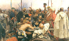 Reply of the Cossacks by Ilya Repin  -  Cards and Small Prints - $8.15+