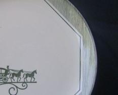 3 Scio Olde Orleans Dinner Plates