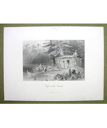 CANADA Shanty Settler Hut on Lake Chaudiere - 1... - $17.82