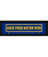 "North Carolina A&T ""Aggie Pride"" Stitched Jersey Framed Print - $39.95"