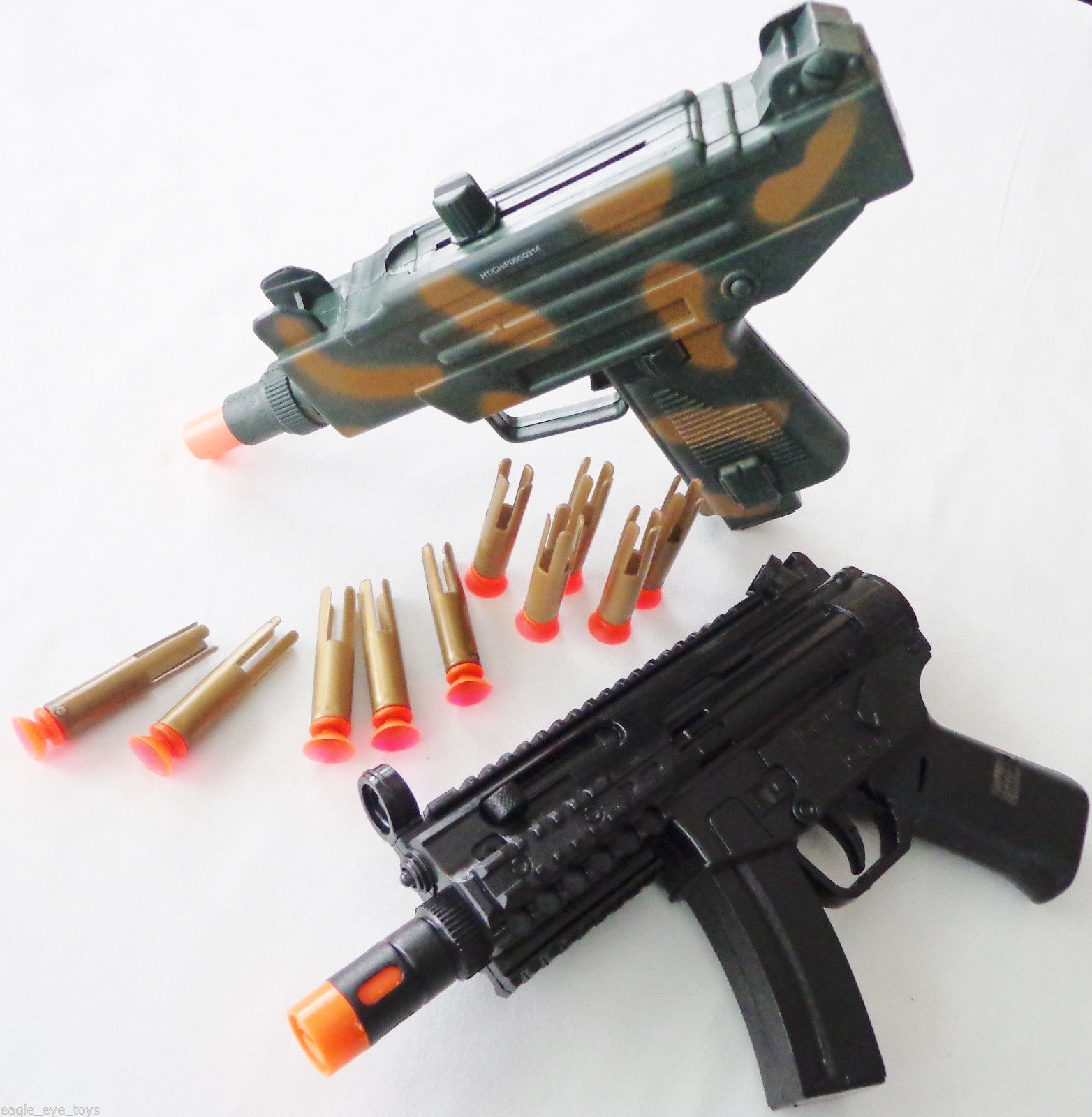 2X Toy Machine Guns! Electronic MP5 w/ Light and 50 similar