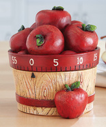 Apple Basket 60-Minute Kitchen Timer - $19.95