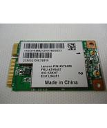 Lenovo IBM BCM94312MCGSG BCM94312 60Y322043 43Y6488 802.11bg Mini WiFi P... - $7.91