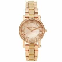 Michael Kors Petite Norie Pink Mother of Pearl Dial Ladies Watch MK3700 - £69.02 GBP
