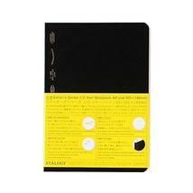 STALOGY 018 Editor's Series 1/2 Year Notebook (A6/Black) Ship From Japan - $23.75