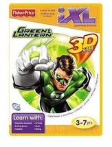 FISHER-PRICE iXL GREEN LANTERN 3D LEARNING GAME NEW/SEALED FOR AGES 3-7 - $3.99