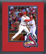 Jeremy Hazelbaker 2016 St. Louis Cardinals - 11x14 Team Logo Matted/Framed Photo - $42.95