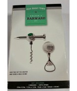 GOLFER'S BARWARE SET Corkscrew & bottle opener BY Man About Town - $6.85