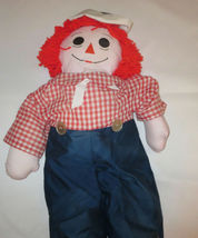 "Raggedy Andy Doll Large 35"" Tall Rag  image 3"