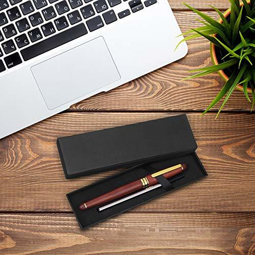 Cambond Rosewood Ballpoint Pen Set with Gift Box - Classic Fancy Nice Writing Pe