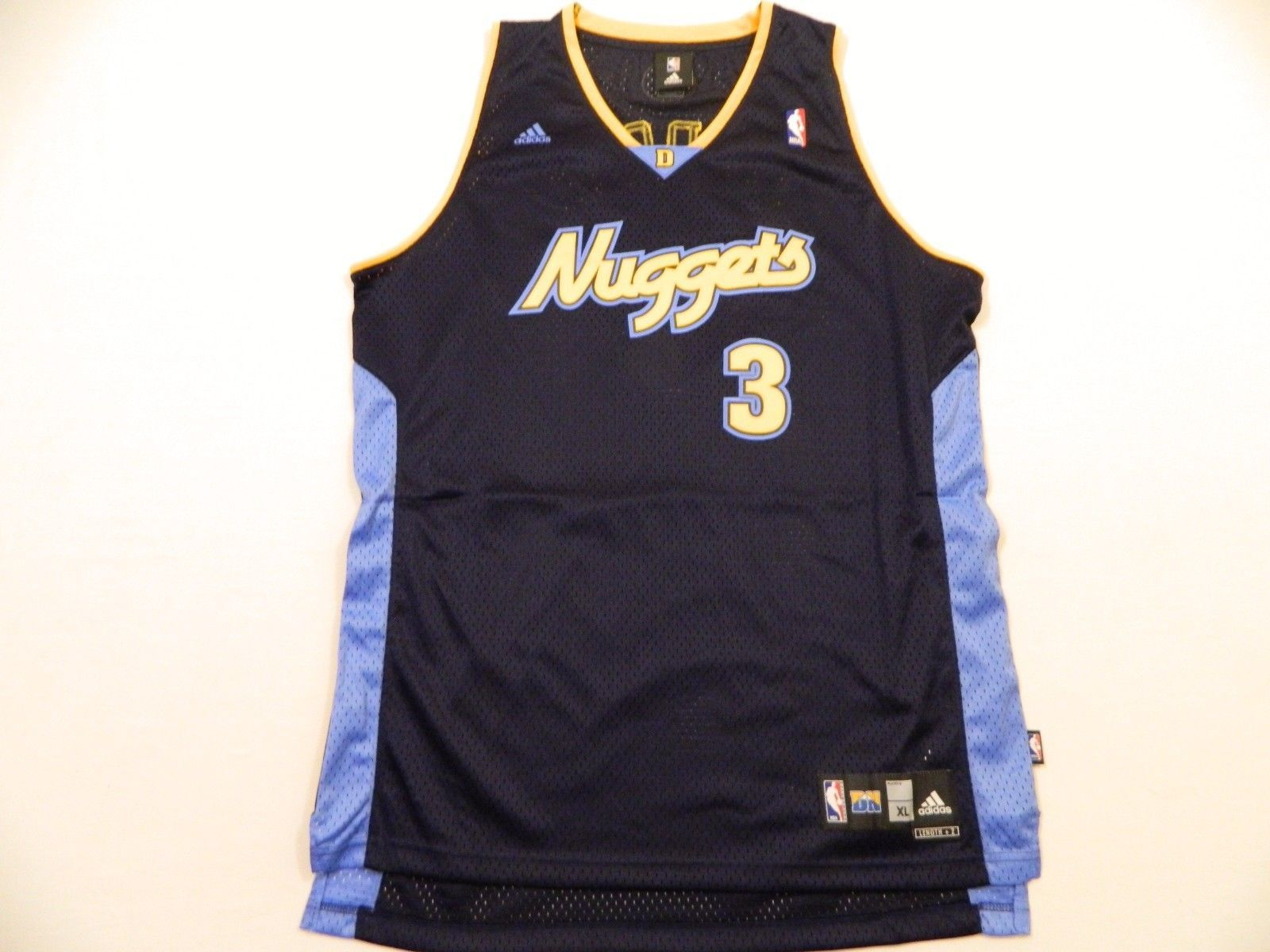 72e0fbf4dd9 M16 New Adidas Denver Nuggets Allen Iverson and 50 similar items