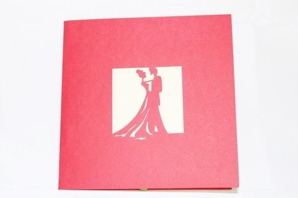 Love Couple in box Pop Up Greeting Card Handmade Happy Birthday Anniversary 45