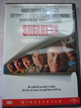 Sneakers Robert Redford Dan Aykroyd DVD 1998 New in Wrapper - $3.99