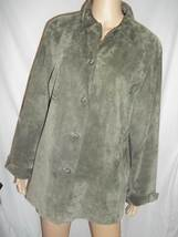 Valerie Stevens Womans' Suede Jacket/Shirt - Size: 1X - NWOT - $29.99
