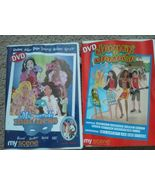 Set of 2 my scene DVD JAMMIN IN JAMAICA Masquerade madness Barbie city f... - $12.73
