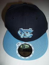 NCAA North Carolina Tar Heels New Era 59 Fifty Kids Hat/Cap -Size: 6 5/8-NEW - $15.99