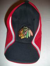 Chicago Blackhawks Reebok Face Off Youth Cap/Hat-Red/Black/White-NWOT - $12.99