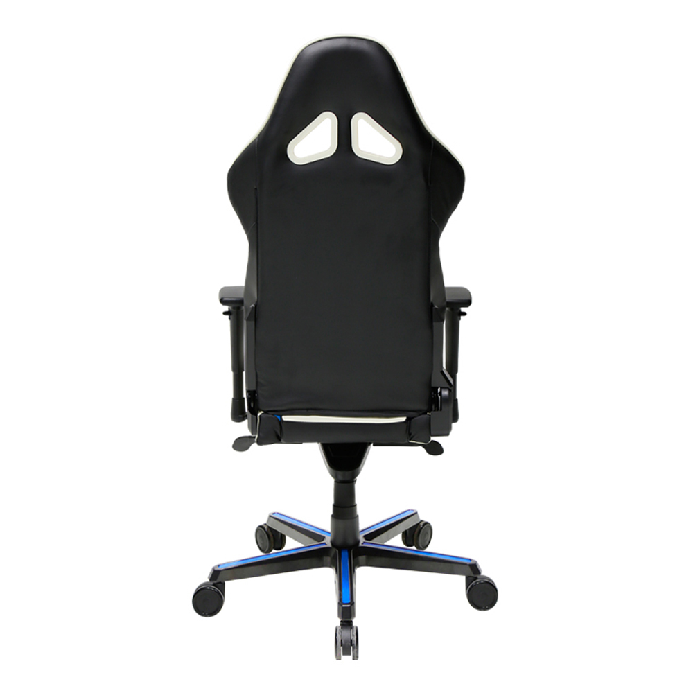 DXRacer OH/RH110/NWB High-Back Racing Style Office Chair PU(Black/White/Blue)