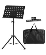 Adjustable Music Stand with Clip Holder and Carry Bag - $33.75