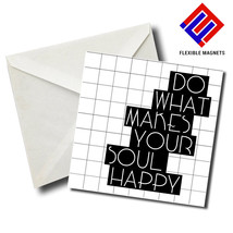 Inspirational Quote Magnet for refrigerator. Great Gift! By Flexible Mag... - $5.92