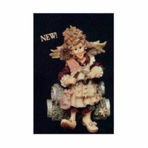 "Boyds Folkstone Ornament ""Madge..Magic Scissors"" #25658- Hairdresser- NIB - $19.99"