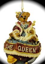 "Boyds Bearstone Ornament ""Regina D Ferrisdaval..I Am The Queen"" #25717- NIB - $19.99"
