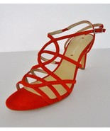 NIB Via Spiga Ima Suede Dress Strappy High Heel... - $89.05