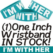 I'M WITH HER One Inch Wristband Bracelet For Boyfriends with their Girlfriends - $5.93