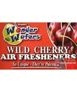 16- Wonder Wafers WILD CHERRY Scent~Amazingly Fresh~ Air Freshener - $7.69