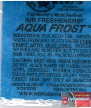 16- Wonder Wafers AQUA FROST (same as Blue Ice) Scent~Amazingly Fresh~ - $6.78
