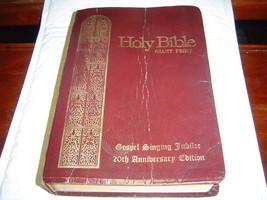 GIANT PRINT Holy Bible KJV Gospel Singing Jubil... - $11.29