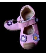 Toddler Girl 20 US 5  Boutique Vincent Sweden Pink Leather shoes Purple ... - $24.45
