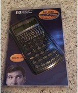 HP 10BII Financial Calculator with instructions- For Parts - Not Working - £7.56 GBP
