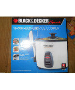 Black & Decker RC436 16 Cup Rice Cooker Steamer Multi Use Slow Soup Stew... - $34.99
