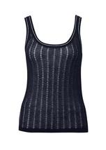 New MISSONI for Target Black Sheer Light Knit Singlet Top Size L 14 - $39.36