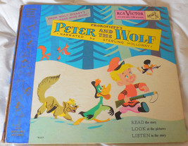Disneys PETER AND THE WOLF 78 Album Set 3 Records RCA 386 With Booklet 1... - $49.49