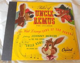 Disney TALES OF UNCLE REMUS 78 RPM Album + 1 Record Capitol CC 40 Rare 1947 - $49.49