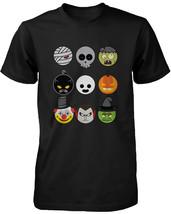 Halloween Monsters Men's Shirt Humorous Graphic Tee for Haunt Night - $14.99+
