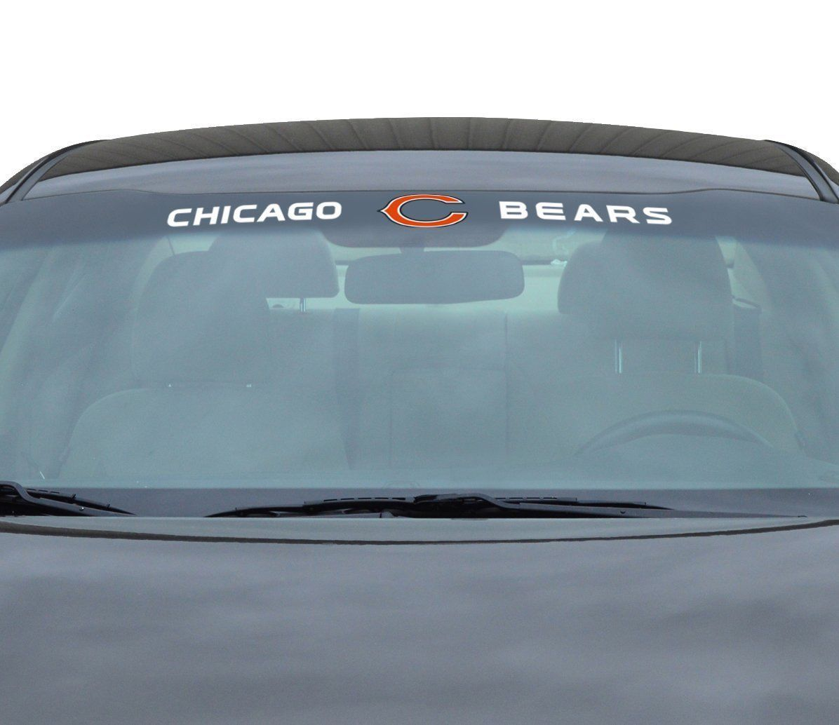 "CHICAGO BEARS 35"" X 4"" WINDSHIELD REAR WINDOW DECAL CAR TRUCK NFL FOOTBALL"
