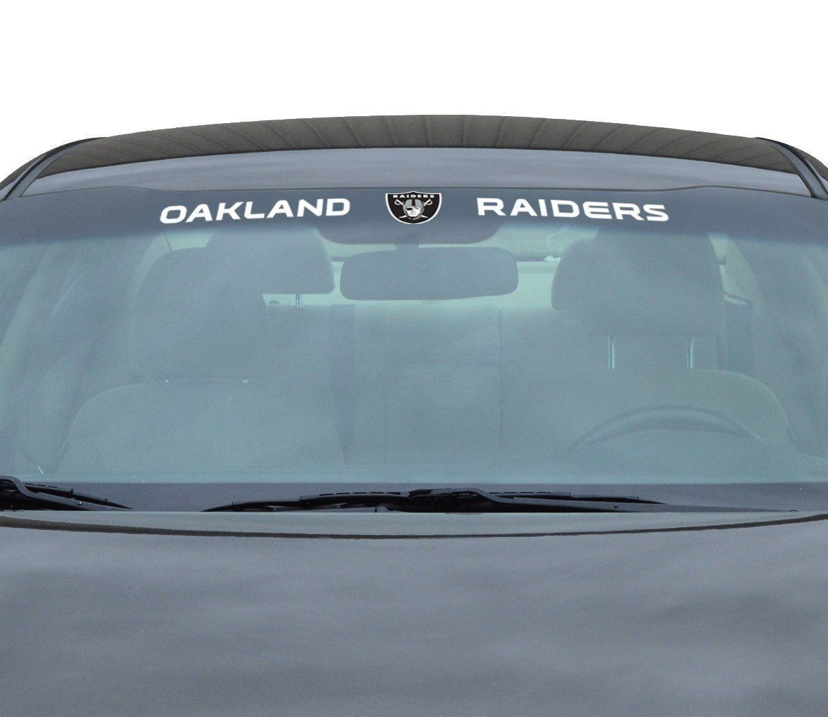 "OAKLAND RAIDERS 35"" X 4"" WINDSHIELD REAR WINDOW DECAL CAR TRUCK NFL FOOTBALL"